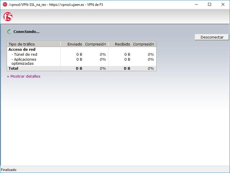 Servicio de Informática - Conexión VPN-SSL usando Mozilla Firefox