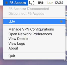 Nueva conexion VPN